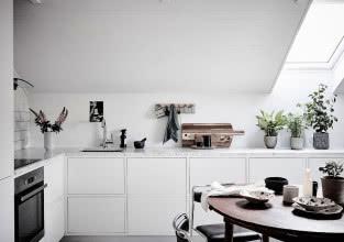 Czy urządzenie kuchni na poddaszu może się udać?