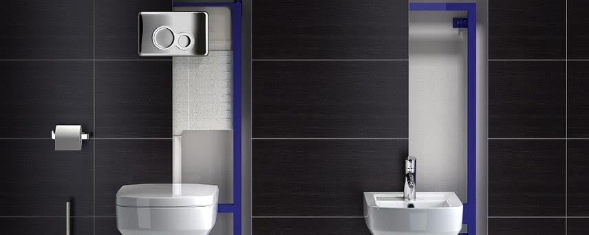 Mała łazienka Bez Kompromisów Stelaż Wc Cersant Oszczędza