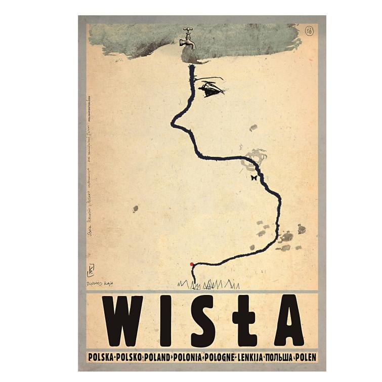 Plakat Wisła Ryszard Kaja Butik Czasnawnętrze
