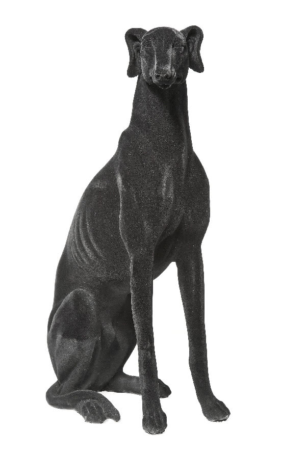 Figura psa Windhund Black