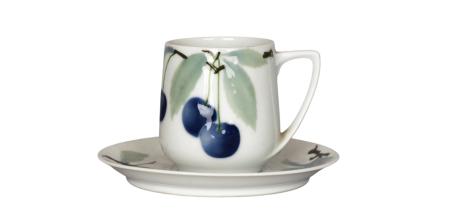 Motyw owoców na porcelanie