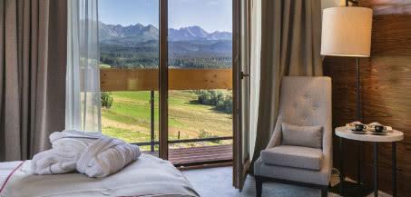 Klimatyczny hotel Kopieniec z panoramą na Tatry