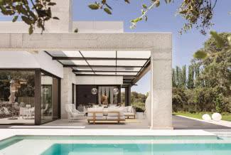 Po prostu luksus - nowoczesny dom na hiszpańskiej prowincji