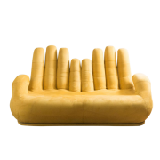 "Sofa ""Cupped Hands"", lata 60., CHAIRISH, 6972 zł"