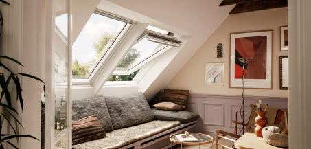 Czas na metamorfozę poddasza - wymień okna dachowe