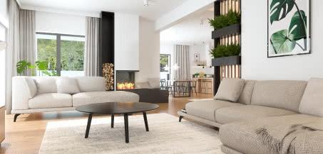 Architekci wnętrz wybierają wygodne sofy