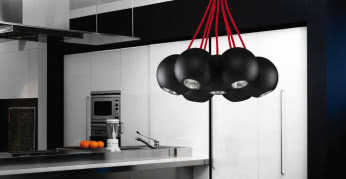 Lampa z kolekcji Bubble Black-Red NOWODVORSKI LIGHTING