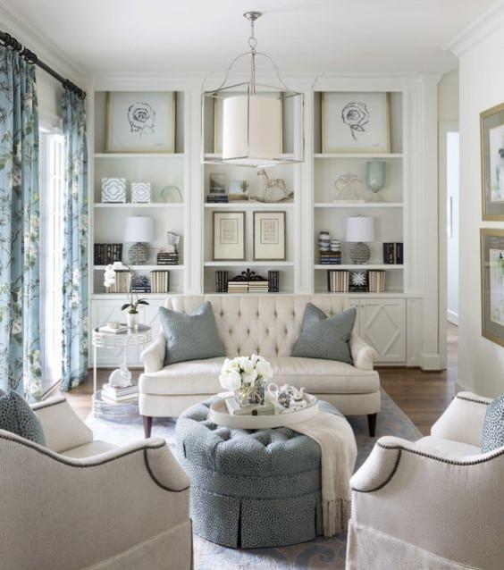 Styl Hamptons Luksus Na Wakacjach Czasnawnętrze