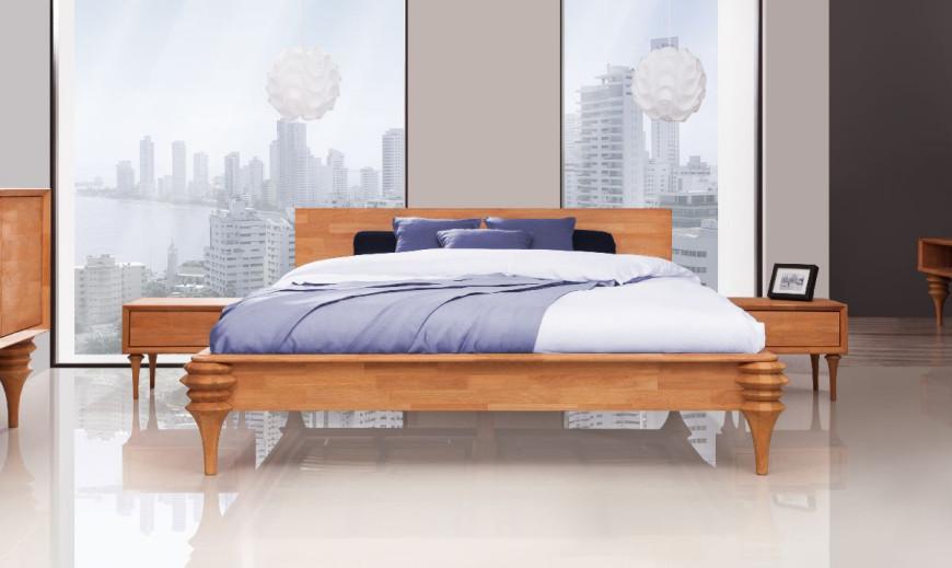 Paris Bukowe Meble Do Sypialni Czasnawnętrze