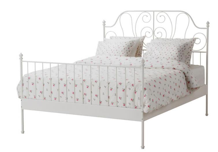 Stalowa Rama łóżka Leirvik Butik Czasnawnętrze