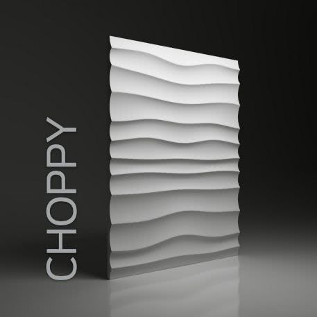 Panel ścienny 3D Choppy