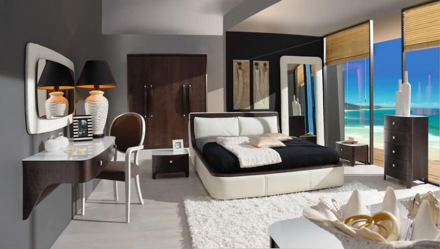 Zupełnie nowe Łóżko tapicerowane w sypialni art deco   CzasNaWnętrze JE08
