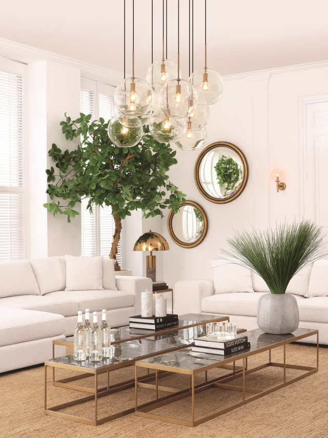Salon W Stylu Modern Classic Nowoczesny Czy Glamour
