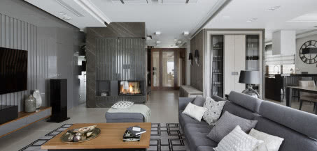 Apartament pełen szarości - zdobywca nagrody European Property Awards!