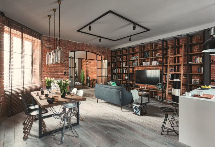 39a4bbcd Mieszkanie w stylu filmowym | CzasNaWnętrze