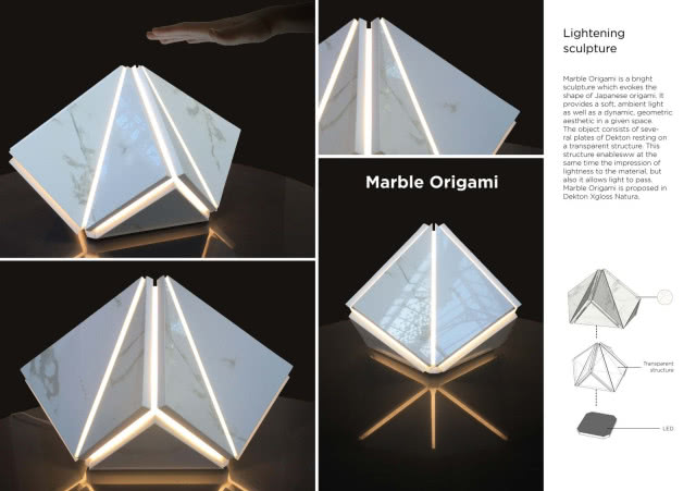 Marble Origami