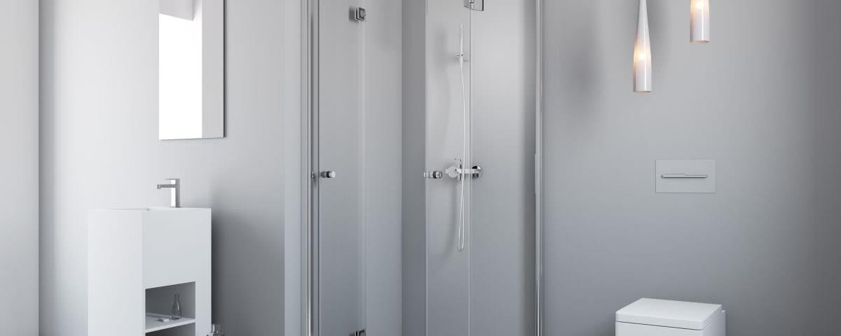Znikająca Kabina Prysznicowa Do Małej łazienki Czasnawnętrze