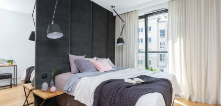 Mieszanka klasyki i stylu loftowego na warszawskiej Woli