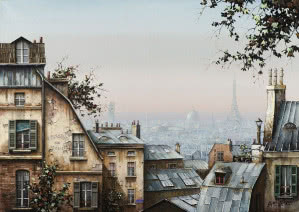 "Jan Stokfisz Delarue, ""Paris Rooftops"""
