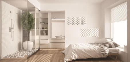SPA w domowej łazience - szkło w roli głównej
