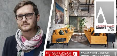 Polak nagrodzony międzynarodową nagrodą! Jan Sikora laureatem A'Design Award 2021