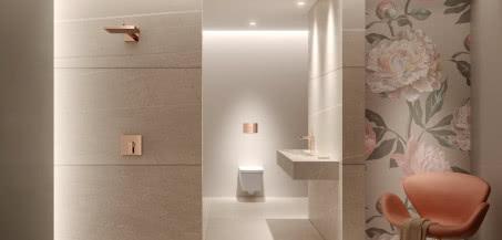 Idealnie dopasowane - przyciski spłukujące i profile prysznicowe TECE