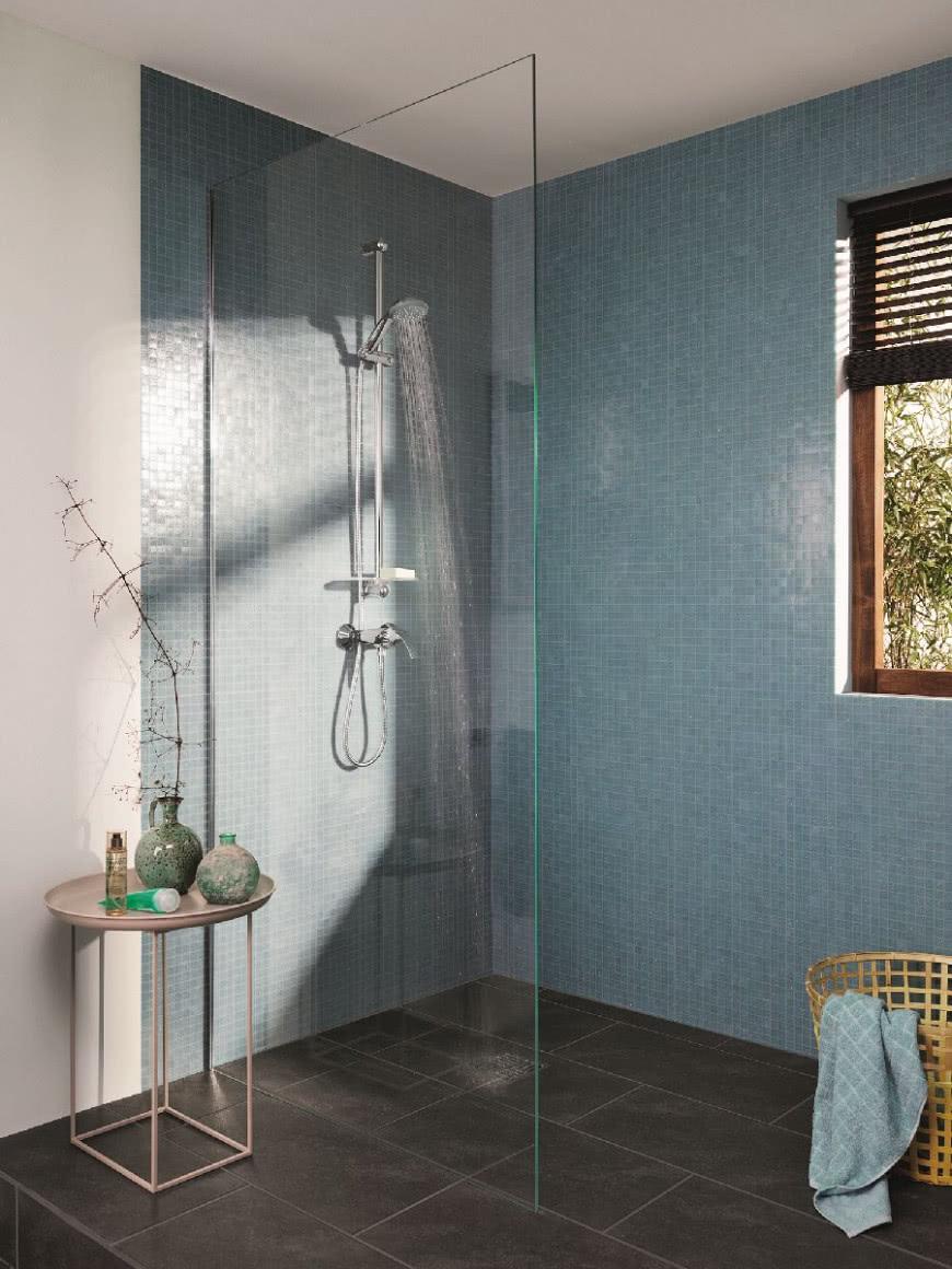 Prysznic Bez Drzwi Kącik Na Odświeżenie Czasnawnętrze