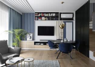 Jak zaaranżować ścianę z telewizorem?