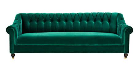 Zielone sofy w każdym stylu - ranking