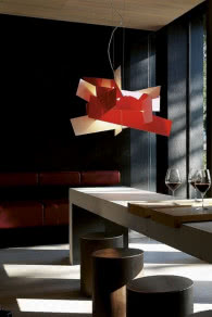 Lampa Big Bang - Foscarini, FABRYKA FORM,