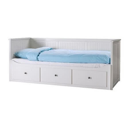 Rama łóżka Hemnes Z 3 Szufladami Butik Czasnawnętrze
