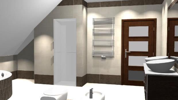 Farba Zamiast Płytek W łazience Czasnawnętrze