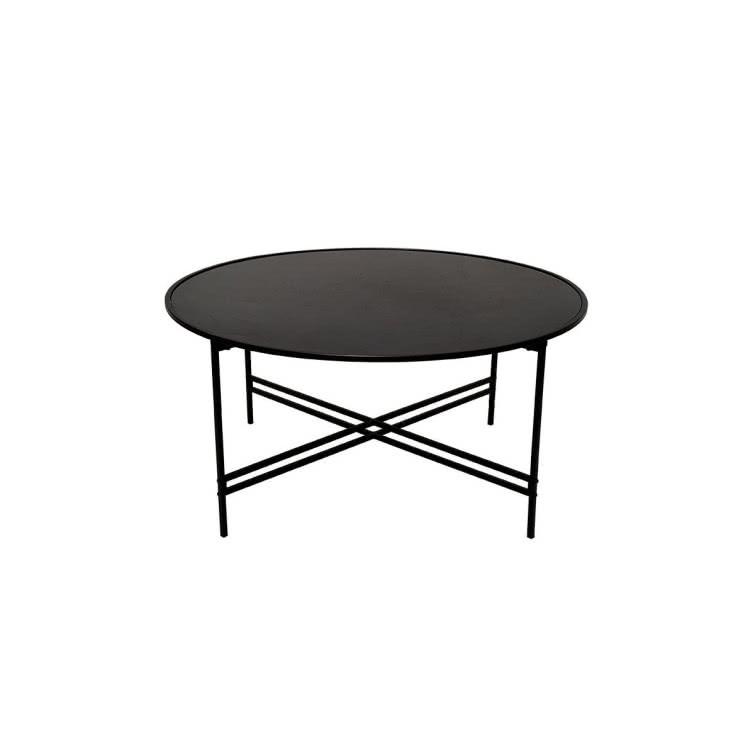 Stolik Kawowy Maison ø100 Cm Czarny Sfmeble Butik Czasnawnętrze
