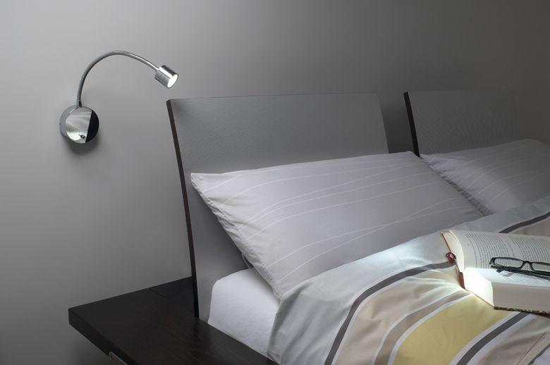Wygodna Lampa Do Czytania W łóżku Czasnawnętrze