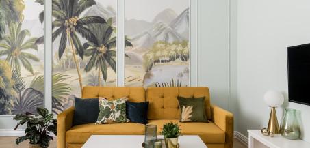 Klasyka u podstaw - sopockie mieszkanie w stylu modern classic