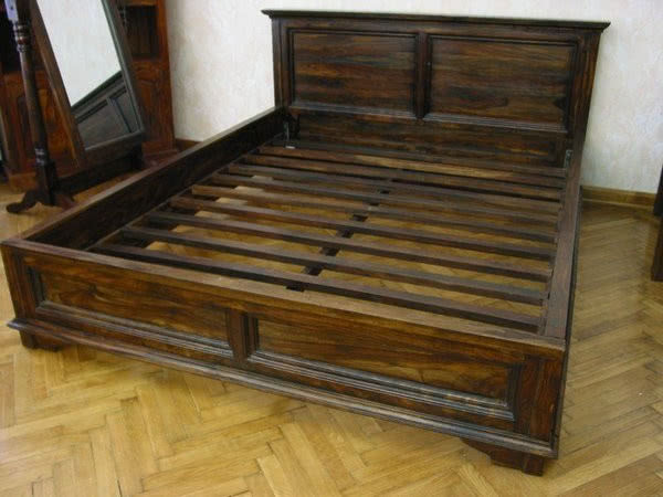 łóżko Kolonialne Butik Czasnawnętrze