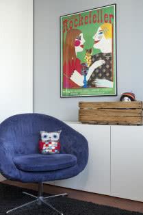Vintage Plakaty I Kolory W 3 Pokojowym Mieszkaniu