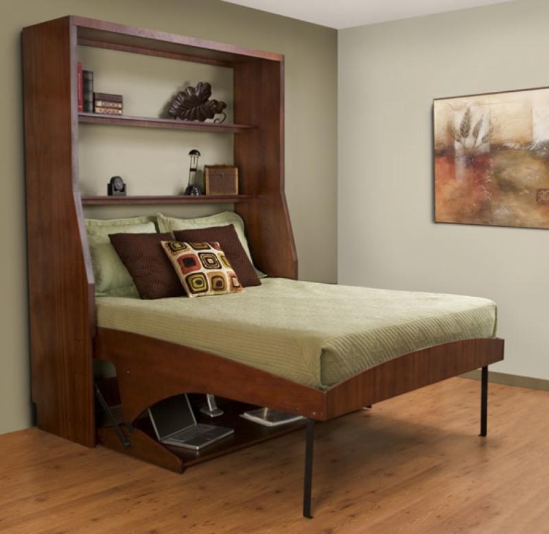 łóżko Sypialniane W Salonie Czasnawnętrze