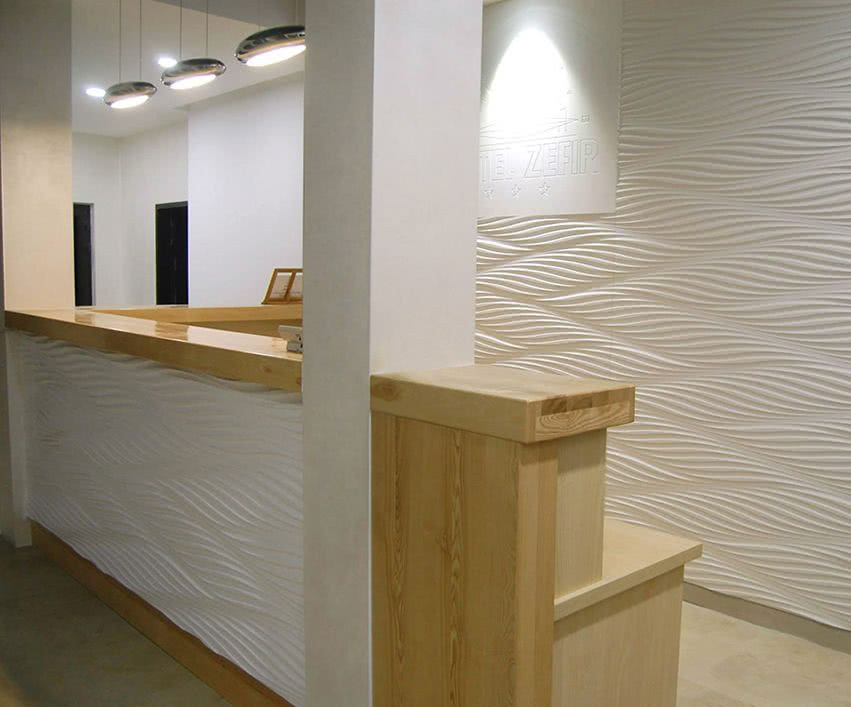 Dekoracyjne Panele Z Frezowanego Mdf 3d Czasnawnętrze