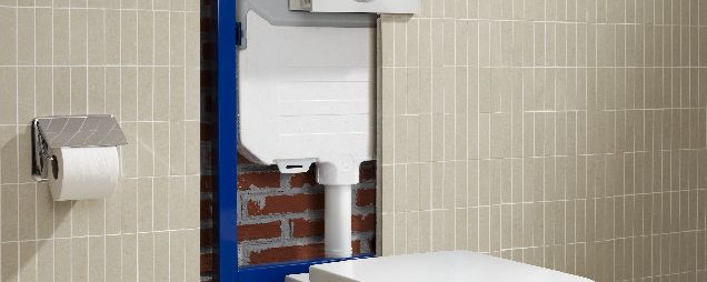 Zabudowa Wc W Małej łazience Płaski Stelaż Roca