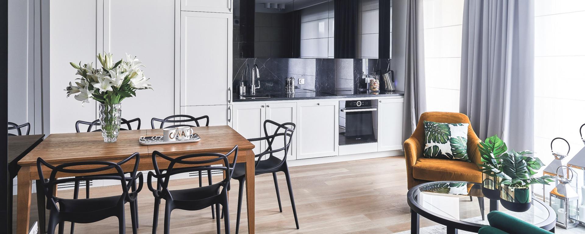 Olśnieni Szykiem Mieszkanie W Stylu Modern Classic