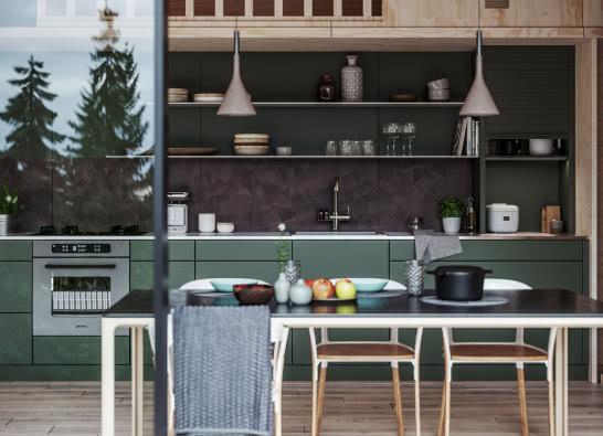 Czy warto wybrać matowe fronty kuchenne?