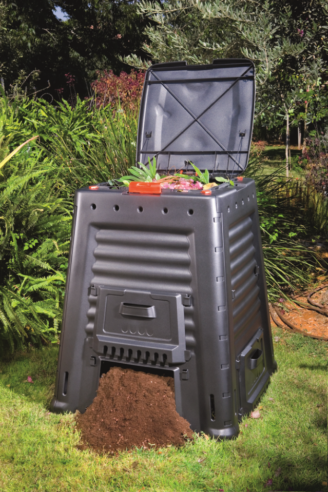 Kompostownik ogrodowy Mega Composter 650 L Without Base firmy Keter
