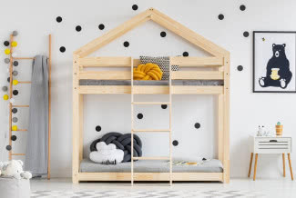 Łóżko piętrowe - z biurkiem, ze schodami, a może w kształcie domku?