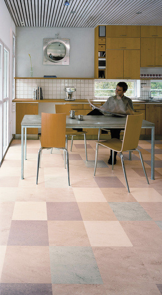 Funkcjonalne Linoleum W Kuchni Czasnawnętrze