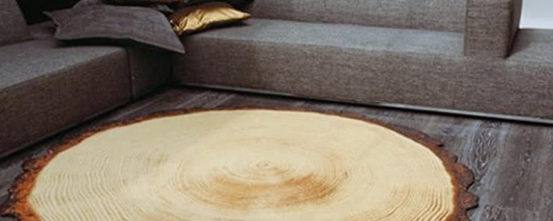 Drewniany Dywan Yvette Laduk Czasnawnętrze