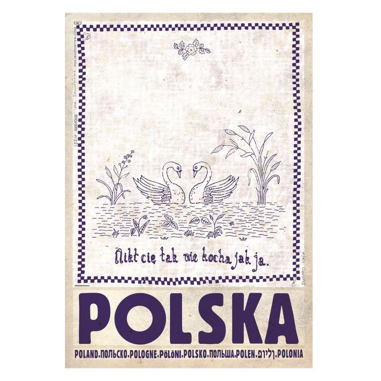 Plakat Polska Ryszard Kaja Butik Czasnawnętrze