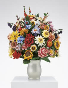 Large Vase of Flowers, © Jeff Koons