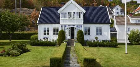 Wejście do raju - osada na przedmeściach norweskiego Arendal