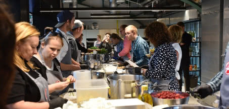 Tak bawiliśmy się na warsztatach kulinarnych z Hoover!